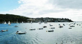 Anchorage at Fowey - 0378