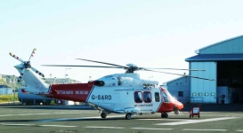 Coastguard Helicopter - Weymouth - 0802