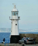 Lighthouse on Mevagissey Harbour - 0190