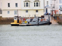 Lower Car Ferry with tug boat - Dartmouth - 0059