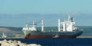 Santa Giulietta supply ship-Weymouth - 0800