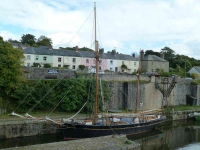 Tall ship at rest - Charlestown - 0318