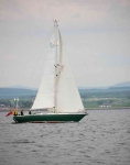 Yacht passing Chanonry point-9166